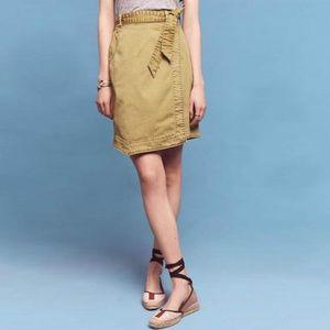 Anthropologie Pilcro Chino Skirt 2